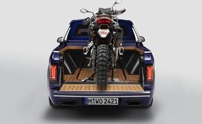 BMW Pickup! Bild 4 BMW X7 Pickup mit BMW F 850 GS