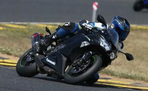 Kawasaki Ninja ZX-6R 2019 Test Pannoniaring Bild 2