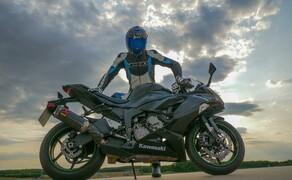 Kawasaki Ninja ZX-6R 2019 Test Pannoniaring Bild 6