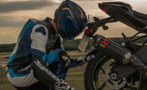 Kawasaki Ninja ZX-6R 2019 Test Pannoniaring Bild 7