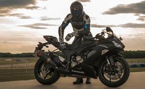 Kawasaki Ninja ZX-6R 2019 Test Pannoniaring Bild 10