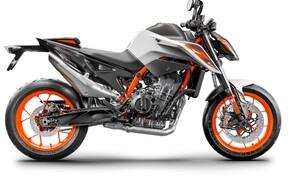 """Motorrad Neuheiten 2020 Bild 2 Das Skalpell war wohl nicht scharf genug, denn auf Basis der 790 Duke präsentiert KTM die neue 890 Duke R, die mit mehr Leistung und einstellbarem WP-Fahrwerk trumpft! Hier alle <a href=""""/modellnews-3006197-ktm-890-duke-r-2020"""">Daten und Fakten zur 890 Duke R</a>."""