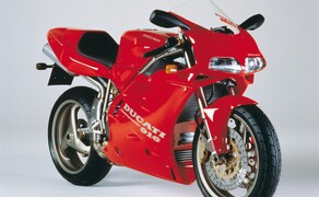Throwback: Originale Studiobilder der Ducati 916, 996 und 998 Bild 9 Die Ducati 916 Strada - Baujahr 1994.
