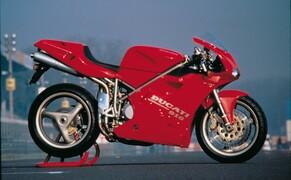Throwback: Originale Studiobilder der Ducati 916, 996 und 998 Bild 10 Die Ducati 916 Strada - Baujahr 1994.