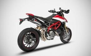 Zard Auspuffanlage für die Ducati Hypermotard 950 / SP Bild 4 Zard Slip on 2-2 Top Gun