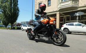 Die neue Harley Davidson LiveWire im Test Bild 15