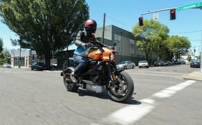 Die neue Harley Davidson LiveWire im Test Bild 2