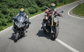 Test in den Alpen - High-Bike Testcenter Paznaun Ischgl 2019 Bild 5 BMW R 1250 R vs. R 1250 RT