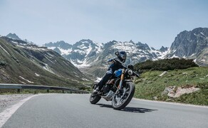Test in den Alpen - High-Bike Testcenter Paznaun Ischgl 2019 Bild 15 Triumph Scrambler 1200 XE