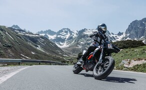 Test in den Alpen - High-Bike Testcenter Paznaun Ischgl 2019 Bild 16 KTM 690 SMC-R