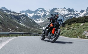Test in den Alpen - High-Bike Testcenter Paznaun Ischgl 2019 Bild 10 KTM 790 Adventure