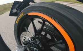 Dunlop Reifentest - Geile Pneus auf 125ern Bild 10 Burnout Test - Bestanden!