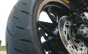 Dunlop Reifentest - Geile Pneus auf 125ern Bild 14 Der Dunlop GPR-300  Preis/Leistung haben überzeugt - Kompromisse muss man dennoch eingehen.
