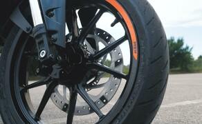 Dunlop Reifentest - Geile Pneus auf 125ern Bild 18 Der Dunlop GPR-300  Preis/Leistung haben überzeugt - Kompromisse muss man dennoch eingehen.