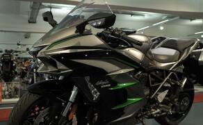 Kawasaki Sporttourer Vergleichstest Bild 3 Das Design der Ninja H2 SX SE+ ist mehr als nur extraordinär!