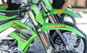 Kawasaki KX250 MX 2020 Test Bild 17