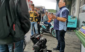 Die Technik der Moto2 - Hinter den Kulissen Bild 1 Trevor Morris, der Technical Director von ExternPro