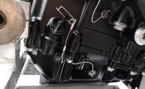 Die Technik der Moto2 - Hinter den Kulissen Bild 5 Ähnliche Siegel finden wir an der Ölwanne...