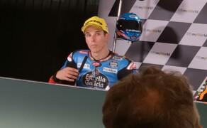 Die Technik der Moto2 - Hinter den Kulissen Bild 18 Laut Alex Marquez war der Zusammenstoß ein normaler Rennunfall.