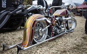 European Bike Week- Harleyparty am Faaker See Bild 4 Zugegeben, die Schräglagenfreiheit ist eingeschränkt.