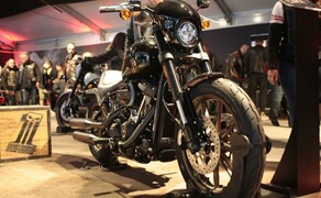 European Bike Week- Harleyparty am Faaker See Bild 15 Die neue Lowrider S mit dem mächtigen 114 Kubik Motor