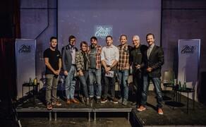 """Zukunft Motorrad Diskussionsrunde beim Moto Circle Bild 1 Die Diskussionsrunde """"Business Talk - Zukunft Motorrad"""" fand am Freitag den 6. September in Wien statt."""