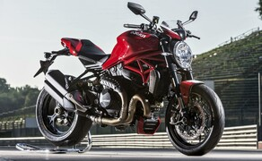 Ducati Monster – nackte italienische Emotion seit 1992 Bild 12 Ducati Monster 1200R - 151 PS und feinste Ausstattung: bis dato die mächtigste Monster