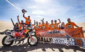 Sam Sunderland gewinnt mit KTM die FIM Rally WM 2019 Bild 1