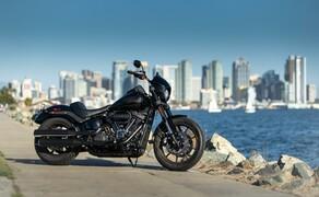 Harley-Davidson Low Rider S 2020 Test in Kalifornien Bild 1 Die neue 2020er Low Rider S durften wir in Südkalifornien testen.