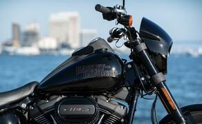 Harley-Davidson Low Rider S 2020 Test in Kalifornien Bild 5