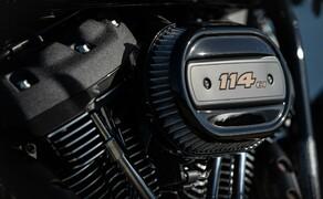 Harley-Davidson Low Rider S 2020 Test in Kalifornien Bild 8 Der Motor mit 1868ccm Hubraum leistet 94PS und liefert 155Nm bei 300 Umin ab.