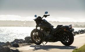 Harley-Davidson Low Rider S 2020 Test in Kalifornien Bild 11 Die Maschine passt laut Harley perfekt in die Gegend rund um San Diego. In der Tat sieht man hier zahlreiche Power Cruiser im Chopper Style.