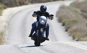 Harley-Davidson Low Rider S 2020 Test in Kalifornien Bild 4