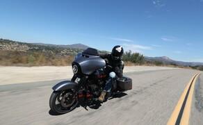 Harley-Davidson Touring 2020 - Testfahrt in Kalifornien Bild 12 Eines der 3 CVO Modelle für 2020: Die CVO Street Glide.