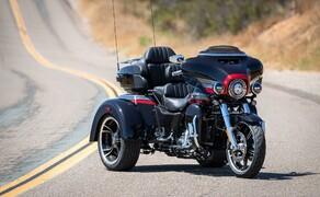 Harley-Davidson Touring 2020 - Testfahrt in Kalifornien Bild 4 Erstmals auch als CVO. Das Tri Glide Ultrad Trike.
