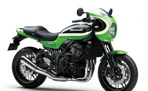 Kawasaki Z900RS und Z900RS Cafe Farben 2020 Bild 12 Vintage Lime Green (Grün)