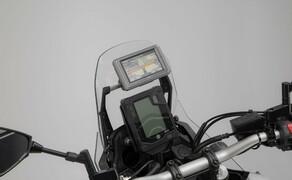 SW-Motech Zubehör für die Yamaha Tenere 700 Bild 3 Navi-Halter an Rohr Ø 10/12 mm