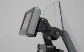 SW-Motech Zubehör für die Yamaha Tenere 700 Bild 4 Navi-Halter an Rohr Ø 10/12 mm