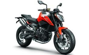"""Motorrad Zulassungen Deutschland - Top 10 Bild 9 Das Skalpell ist immer noch scharf wie am ersten Tag und schneidet mit Platz 6 in der Zulassungsstatistik glänzend ab.  Wie sich die <a href=""""/testbericht-3004479-naked-bike-vergleich-2018-ktm-790-duke"""">KTM 790 Duke</a> im Nakedbike-Vergleichstest schlägt, haben wir für euch getestet!"""