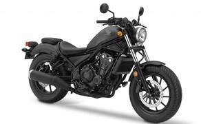 """Motorrad Zulassungen Deutschland - Top 10 Bild 7 Platz 7 belegt, für uns überraschend, die <a href=""""/testbericht-3003657-honda-rebel-sommerausfahrt"""">Honda CMX 500 Rebel</a>, ein zugängliches Bike, das eine verschollen geglaubte Motorradkategorie in neuem Glanz erstrahlen lässt."""