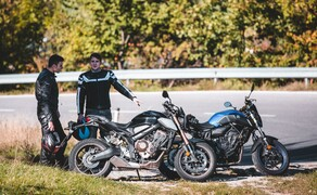 Yamaha MT-07 SP vs. Honda CB650R Vergleich Bild 4