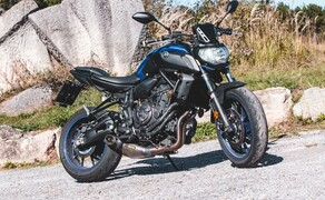 Yamaha MT-07 SP vs. Honda CB650R Vergleich Bild 14