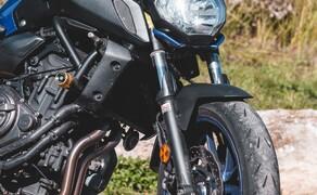 Yamaha MT-07 SP vs. Honda CB650R Vergleich Bild 16
