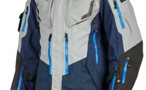 """KLIM Lightning Blue World Conqueror Bild 1 KLIM Badlands Pro Jacke """"Special Edition Blue"""": Größen Small bis 3X-Large, UVP: € 1.160,00"""