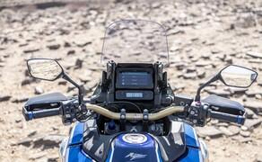 Honda CRF 1100 L Adventure Sports Test der Reissenduro Bild 18 Ein Tempomat ist bei der Adventure Sports ab 2020 serienmäßig mit an Bord.