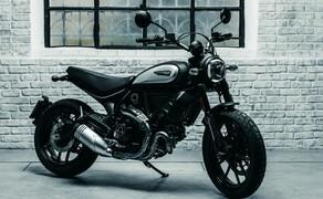 """Ducati Motorradneuheiten 2020 Bild 12 Bei der erfolgreichen Scrambler-Modellreihe ist es wenig verwunderlich, dass diese auch 2020 weitergeführt wird. neben den schon bekannten Modellen wie Full Throttle, Cafe Racer und Desert Sled kommt auch eine neue Ducati Scrambler 800 Icon Dark. Diese richtet sich eindeutig an die Customizer-Szene. Felgen, Blinker und mehr sind bewusst schlicht und einfach gehalten, da sie sowieso als erstes ausgetauscht werden. Äußerlich vielleicht etwas zurückgehaltener, innerlich doch genauso üppig ausgestattet wie ihre Schwestern. Wie genau diese Austattung aussieht, erfahrt ihr in unserem Bericht zu den <a href=""""https://www.1000ps.at/modellnews-3006118-ducati-scrambler-800-2020-neue-icon-dark-als-einstieg"""">Ducati Scrambler 800 2020 Modellen</a>."""