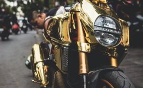 Goldene Ducati Diavel StreetFind der Woche Bild 4