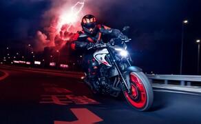 Yamaha Motorrad Neuheiten 2020 Bild 5 Die Yamaha MT-03 2020.