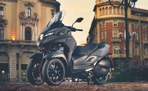 Yamaha Motorrad Neuheiten 2020 Bild 14 Der Yamaha Tricity 300 2020.