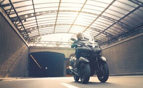 Yamaha Motorrad Neuheiten 2020 Bild 15 Der Yamaha Tricity 300 2020.
